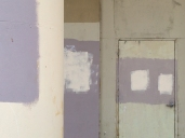 The local painter did not disclose his color deficiency when interviewed for the job. (Niland, Calif.)